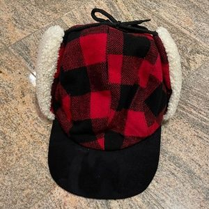 Old Navy Flannel Sherpa Hat